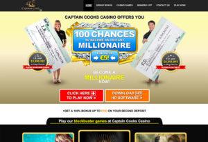 Captain Cooks Casino Review